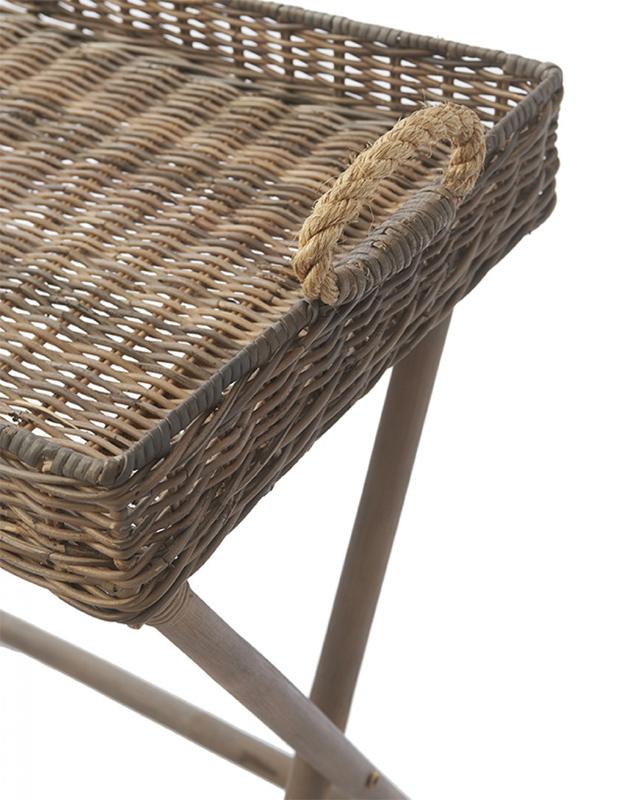 beistelltisch tabletttisch rustic rattan von riviera maison. Black Bedroom Furniture Sets. Home Design Ideas