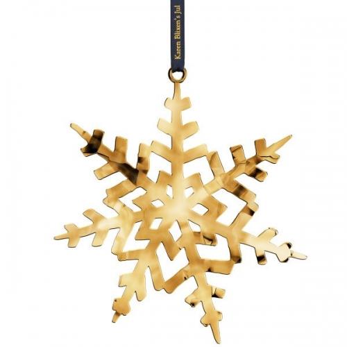 weihnachtsbaumschmuck karen blixen kristallstern vergoldet. Black Bedroom Furniture Sets. Home Design Ideas