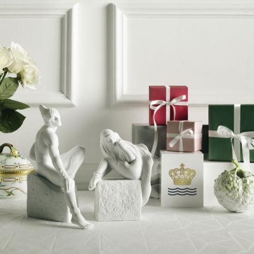 sternzeichen sch tze frau von royal copenhagen. Black Bedroom Furniture Sets. Home Design Ideas