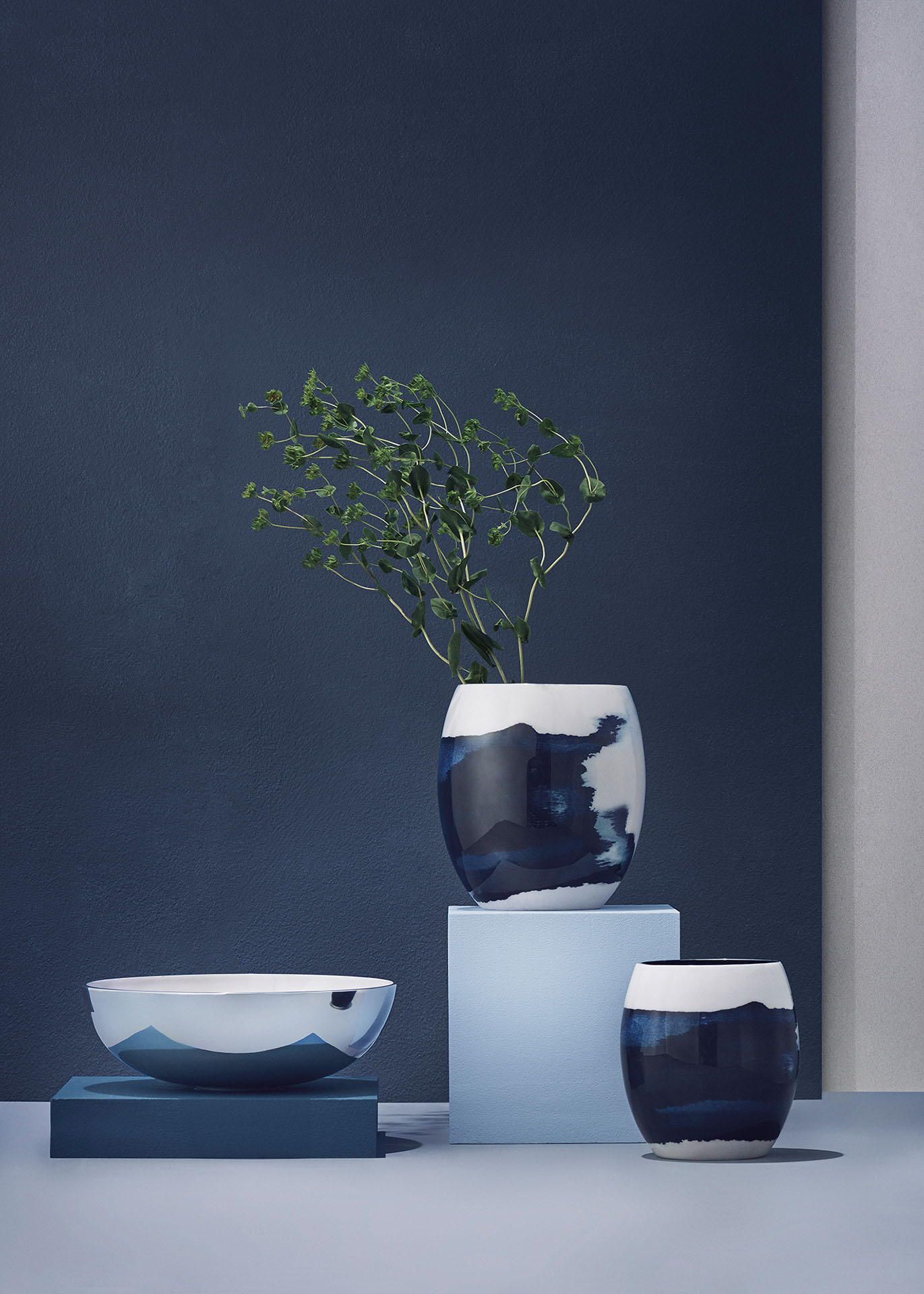 vase stockholm aquatic klein von stelton. Black Bedroom Furniture Sets. Home Design Ideas