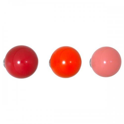 vitra wandhaken coat dots rot 3 teilig eur 69 00. Black Bedroom Furniture Sets. Home Design Ideas