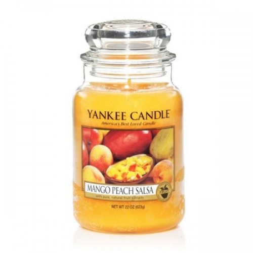 duftkerze mango peach salsa 623g von yankee candle. Black Bedroom Furniture Sets. Home Design Ideas