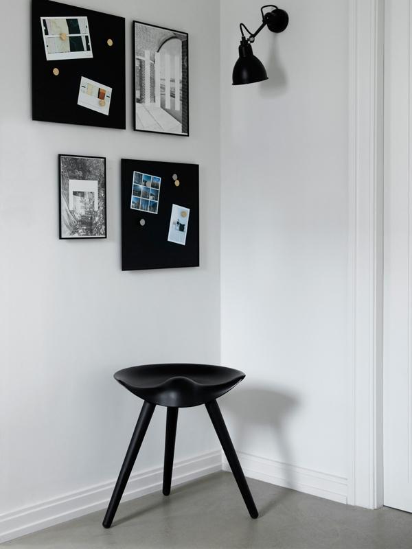 bilderrahmen rahmen illustrate 50 x 70 cm schwarz von by lassen. Black Bedroom Furniture Sets. Home Design Ideas